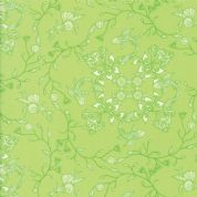 Manderley by Franny and Jane - 5040 - Bright Green Seaside Floral  - 47503 16 - Cotton Fabric